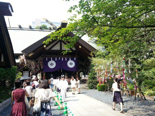 東京大神宮七夕